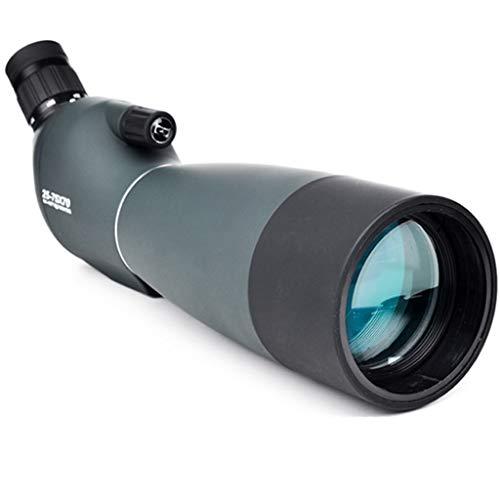 JHLD Alto Poder Monóculo Telescopio para Adultos,HD Monoculares, para Senderismo, Caza, Alpinismo, Ornitología-25-75×70