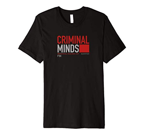Criminal Minds BAU Quantico Premium T-Shirt
