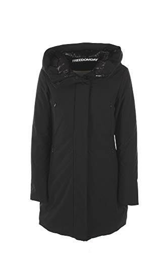 Freedom Day Giubbotto Donna XS Nero Ifrw2228u116-rd Autunno Inverno 2019/20