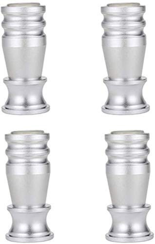 ZJDU Patas para muebles Niture Pies ajustables para mesas de salón de metal Niture, patas de mesa/patas de apoyo redondas, pies de niture seguros y silenciosos, 4 juegos de 15,2 cm.