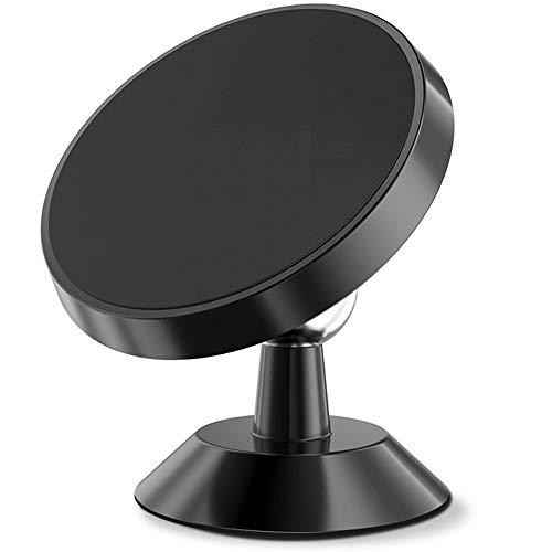 Autotelefoonhouder 360 graden rotatie, universele Air Port Magnetic GPS (kleur: zwart)