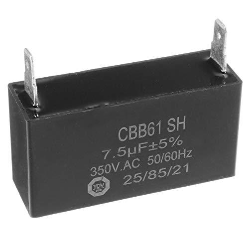 RENCALO 350V 7.5uF CBB61 Condensador Condensador Generador AVR para Generadores Diesel