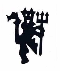 Sold by A Good Decals USA Manchester United Red Devil Vinyl Decal