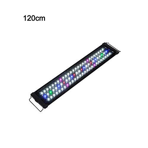 WhYlzh Luces de Acuario Lámpara 30CM 45CM Impermeable luz del Acuario de Full Spectrum for Peces de Agua Dulce del Tanque Planta Marina decoración acuática (Color : 30cm EU Plug)