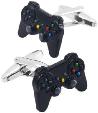 AliNature Creative Shirt Cufflinks French Cuff Links Game Consoles Handle Cool Mens