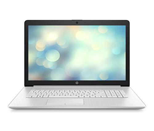 HP 17-by3263ng (17,3 Zoll / FHD IPS) Laptop (Intel Core i7-1065G7 quad, 16GB DDR4 RAM, 512GB SSD, Intel Iris Plus Grafik, Windows 10) silber