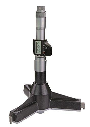 Digital de tres puntos de interior de calibre micrómetro (25Rango de medición 300–325mm–Interior Conectores para orificios de rendimiento