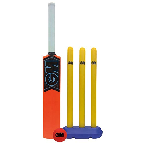Gunn & Moore GM Cricket-Set für Kinder, Unisex, Orange, Einheitsgröße