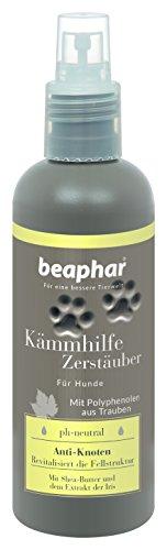 Premium Kämmhilfe Zerstäuber | Fell-Pflege für Hunde | Entfilzungsspray mit Shea-Butter | Spray zum Kämmen von Hunde-Fell | Ohne Sikilone | 200 ml