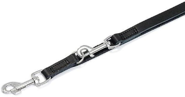 Karlie Rondo leash stitched  Black, width   length, 18 mm, 200 cm, leash, dog leash