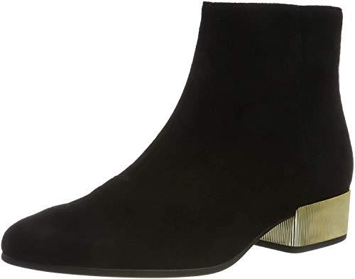 Geox Damen D PEYTHON LOW B Stiefeletten, Schwarz (Black C9999), 39 EU