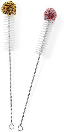 Flaschenbürste Bottle Brush extralang 3 x 45 cm Reinigungsbürste Gläserbürst