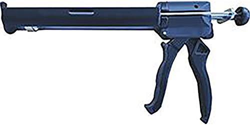 Extruderpistole für Kartusche Kunstharz Expansive M3000, Grau