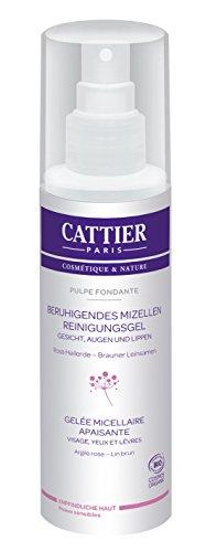 Cattier Pulpe fondante Beruhigendes Mizellen Reinigungsgel, 1er Pack (1 x 200 ml)
