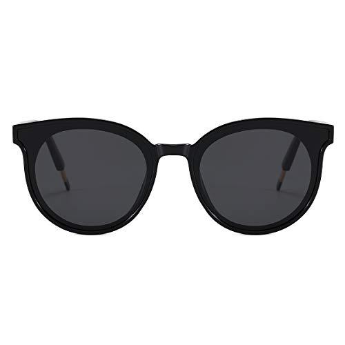 Drifter Style Sunglasses, Retro Polarized, UV Protection, Cat Eye Oversized...
