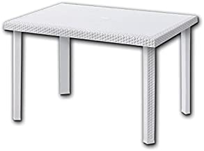 Grandsoleil Boheme Greenpol tavolo rettangolare 150/x 90/x 74.5/cm antracite verde polimerico