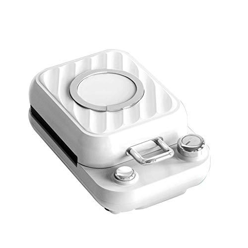 Temporizador de 5 Minutos Panini Press Sandwichera eléctrica Máquina de Tostadas Repetición de temporización Máquina de Helados Temperatura Ajustable