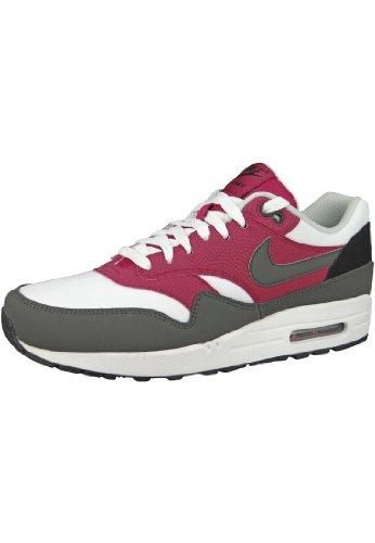 Nike Herren Air Max 1 Essential Sneakers, Neongelb-Dunkelgrau-Weiß, 40 EU