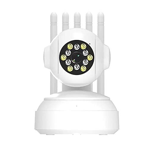 EC122-X15 720P IP Monitor de cámara inteligente, WiFi 5 señal de antena vinculada con teléfono, mejora de seguridad en el hogar, monitor inalámbrico para bebé/mascotas/viejos vigilante