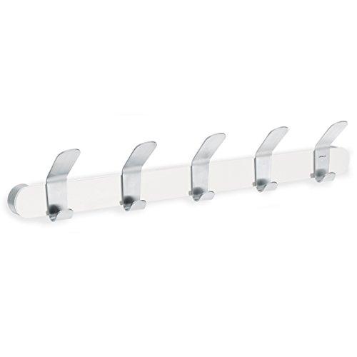 63264 Venea   Perchero de pared (5 ganchos), color blanco