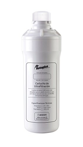 Cartuchos de filtrado para el agua marca Rotoplas