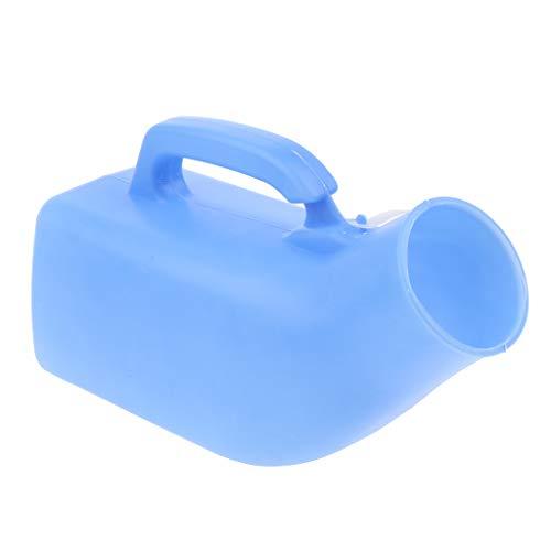 Bolsa de Aseo de Emergencia de Olla con Cámara de Urinario de 1000 Ml Más Vieja con Tapa - Azul