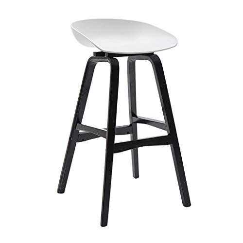 QQXX Hoher Hocker Barhocker Frühstücksstuhl und runder PP-Sitz aus Holz Küchentheke Gewächshaus Café-Bar (Mehrfarbig) für Kitchen Pub Cafeacute; (Farbe: # 3)