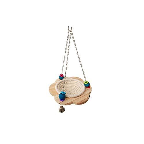 HAOZHAO Cuerda de algodón de Aves reproductoras Nido Colgante Cama Nido Jaula Eclosión Box (Color : 1)