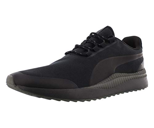 PUMA Unisex-Adult Pacer Next Sneaker, Black-Dark Shadow, 10.5 M US