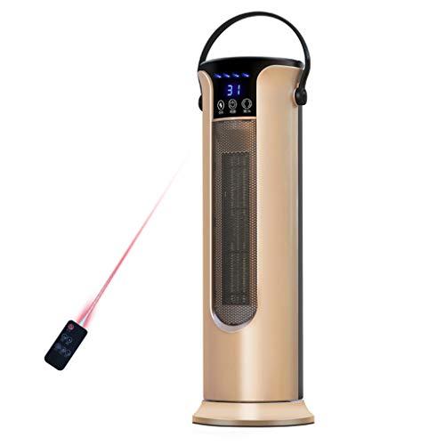 Chauffage à la maison, chauffage et refroidissement, ventilateur à double tour, climatisation (Color : Gold)