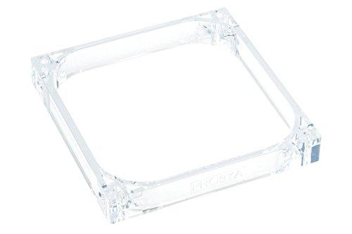 Phobya 38113 - Halterung/Sockel/Unterbau für PC-Kühler / -Lüfter, 140 mm x 140 mm x 20 mm, transparent