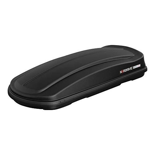 NORDRIVE N60016 - Caja de Techo ABS (430 L), Color Negro