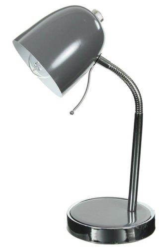 Lampe de bureau multipositions gris