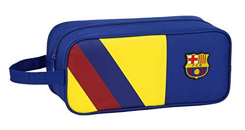 Safta 812025194 Bolso zapatillas zapatillero 34 cm FC Barcelona