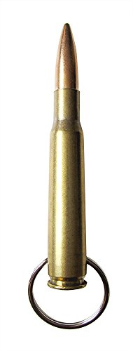 50 Cal Browning Bullet Keychain .50 Caliber Military - .50 BMG Pendant solid