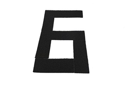 Genérico - Filtros de carbón activado, Esponja de filtrado, estera de filtrado - 4 PLUS 4+ (6...
