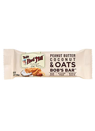 Bob's Red Mill Peanut Butter Coconut & Oats Bob's Bar (Case of 12)