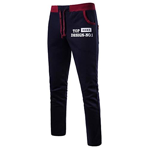ALIKEEY Pantalones De Chándal De Hombres Pantalones De Deporte Pantalones Jogger Casuales para Hombre Pantalones Vaqueros De Mujer