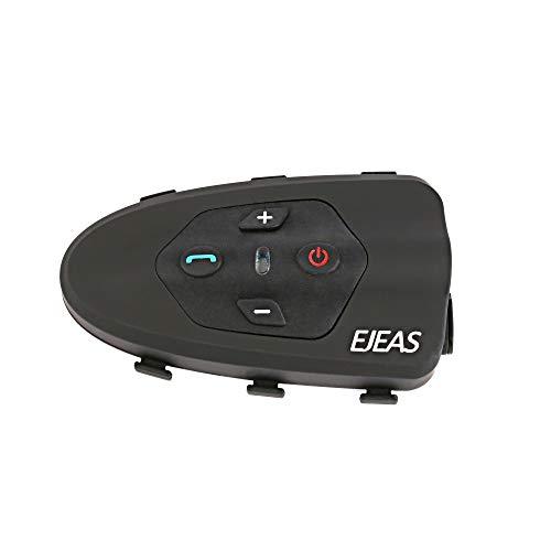 EODUDO-S Bluetooth Bicicleta Casco Intercom 200hrs Standby Interphone Headset