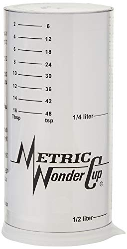 Wonder Cup Adjustable Measuring Cup (Two Cup Size)