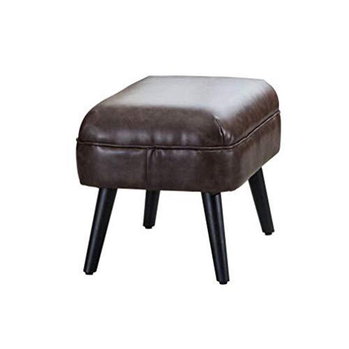TT&D moderne zitzak van kunstleer, voor slaap- en woonkamer, zitbank met poten van massief hout (kleur: nr. 3)