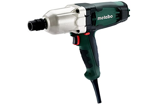 Metabo 602204000 Schlagschrauber SSW 650 | Rückschlagarm / Vario-Elektronik / Aluminiumdruckguss Getriebegehäuse (Leerlaufdrehzahl 0 - 2100 /min | 650 W | Schlagzahl 2800 /min | 600 Nm)