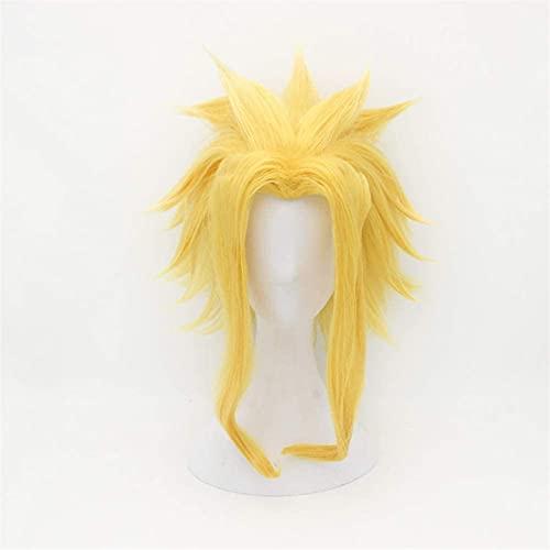 MCE Peluca de cosplay con gorro para peluca para My Hero Anime Academia (color: All Might)