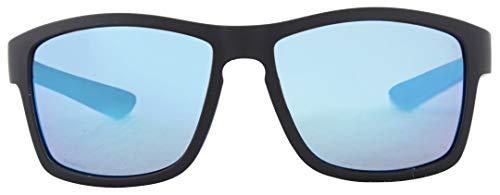 Basta CALLICO Polarized Sonnenbrille Black Matte/Blue Mirror