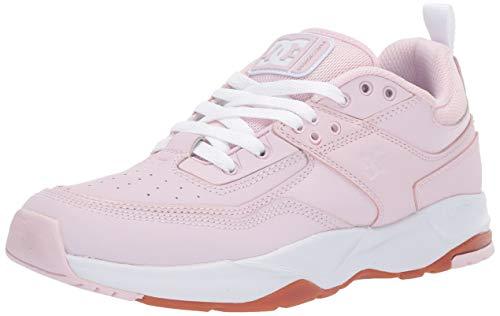 DC Women's E.TRIBEKA SE Skate Shoe, Light Pink, 8.5 M US
