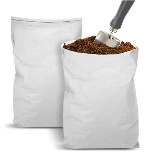 Terriccio di Cocco Sciolto - Substrato, Humus, Terra senza Concimi e Anti-Muffa, Universale, per Piante e Terrario - Sacco da 20L