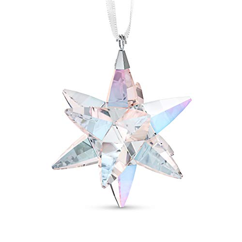 Swarovski 'Shimmer' Star Christmas Ornament, Medium Swarovski Crystal Christmas Tree and Home Ornament