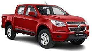 Holden Colorado Dual Cab July 2012 to Current Without Sports bar, Headboard Clip On Ute Tonneau Cover. Tuff Tonneaus Ute C...