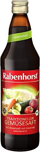 Rabenhorst Traditioneller Gemüsesaft bio, 6er Pack (6 x 700 ml)