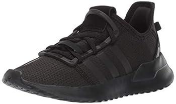 adidas unisex child U_path J  Big Kid  Running Shoe Black/Black/White 4.5 Big Kid US